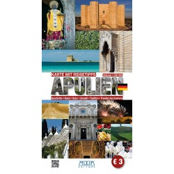 Apulien - Karte Mit Reisetipps