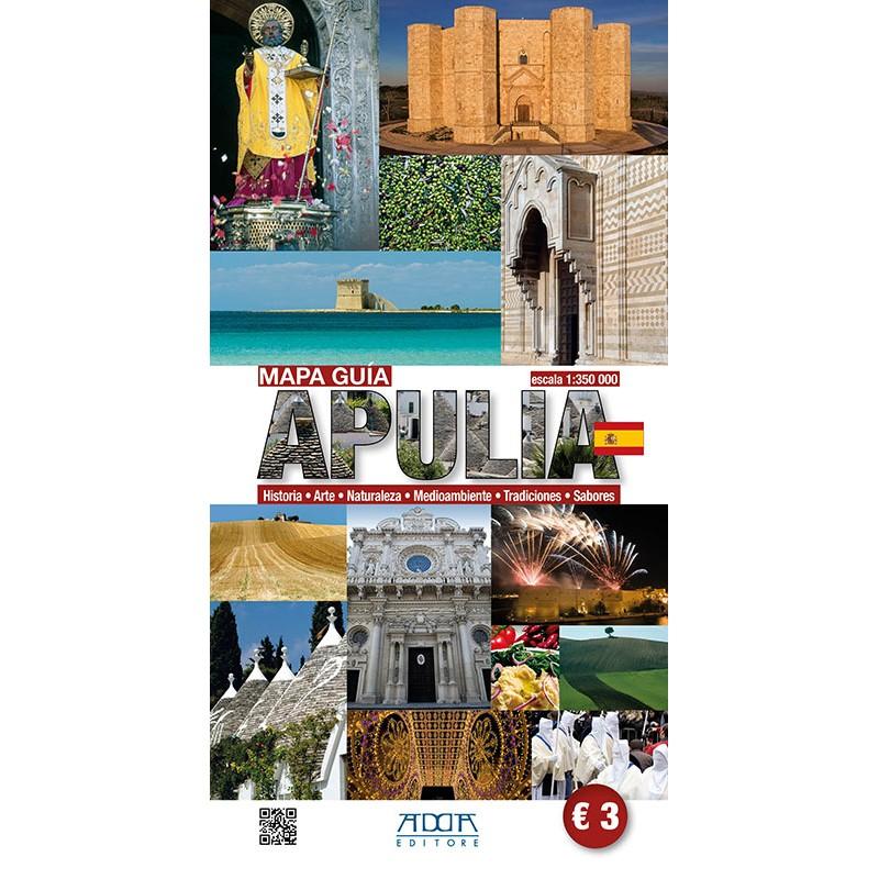 Apulia - Mapa Guia